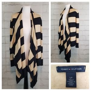 Tommy Hilfiger S Open-Front Waterfall Cardigan